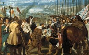 Picture picture, genre, Diego Velazquez, The Surrender Of Breda