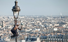 Picture the ball, France, France, Paris, Iya Traore, Iya Traore, panorama, Montmartre, freestyler, Paris, lantern, Montmartre, ...