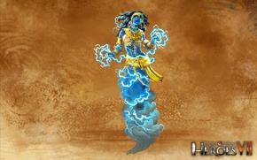 Picture art, art, Academy, heroes of might and magic 7, Might & Magic 7, Djinn Channeler