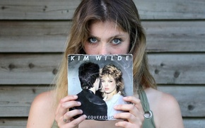 Picture girl, record, retro 1981, Chequered Love, Kim Wilde