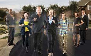 Picture running, The series, actors, Movies, No Ordinary Family, An unusual family