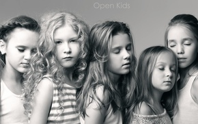 Picture children, pop, music group, Open Kids