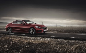 Picture car, Mercedes Benz, Coupe, C Class, Ciprian Mihai