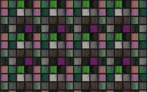 Picture mosaic, background, wall, Wallpaper, color, squares, grille, texture