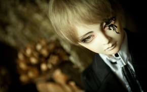 Picture doll, tattoo, costume, tattoo, guy, tattoo, doll, BJD