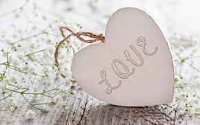 Wallpaper flowers, flowers, heart, love, heart, love, romantic
