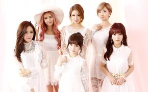 Picture music, girls, Asian girls, Korea, T-ARA, pop, Seen, Hemin, Jien, Chiuri, Boram, Incheon