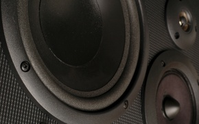Wallpaper dynamics, sound, speakers, audio