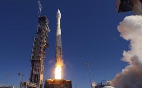 Picture rocket, start, Spaceport