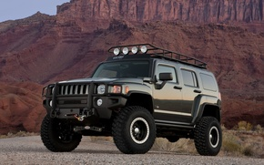 Picture concept, Hummer, moab