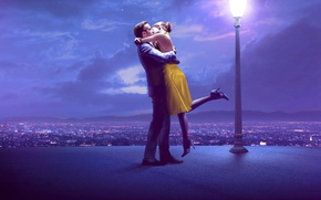 Picture Emma Stone, Ryan Gosling, The The Land, La La Land