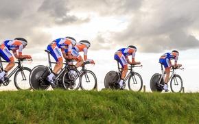 Picture race, sport, bikes