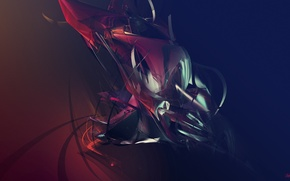 Picture abstraction, figure, graphics, hd wallpapers