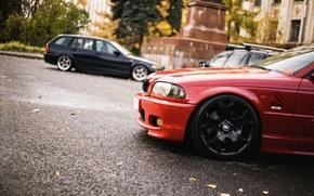 Picture autumn, BMW, e46