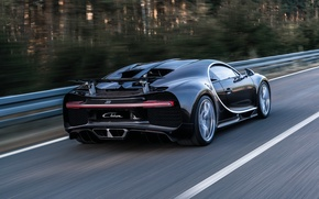 Wallpaper Bugatti, supercar, car, Bugatti, back, Chiron
