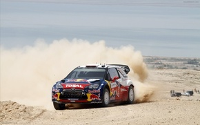 Picture sand, dust, Citroen, Citroen, rally, rally, WRC