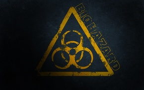 Picture biohazard, sign biological hazard, danger sign, biohazard