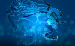 Wallpaper vocaloid, hatsune miku, Vocaloid