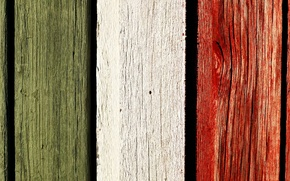 Picture the fence, color, texture