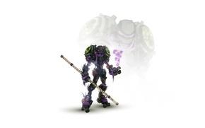 Picture robot, cyborg, mutants, teenage mutant ninja turtles, turtles, TMNT, stick, teenage mutant ninja turtles, don, ...