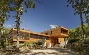Picture style, Villa, architecture, exterior