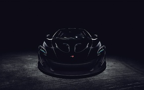 Picture McLaren, black, front, black, before, McLaren