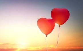 Picture love, heart, love, heart, romantic, balloon