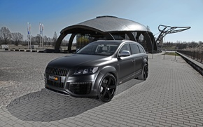 Picture Audi, Black, Shadow, Car, Matt, The front