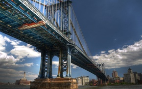 Picture New York, New York City, Manhattan Bridge, Manhattan bridge