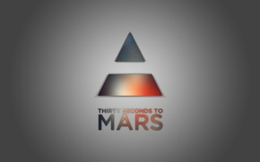 Picture music, rock, minimalism, 30 seconds to mars, triangle, thirty seconds to mars
