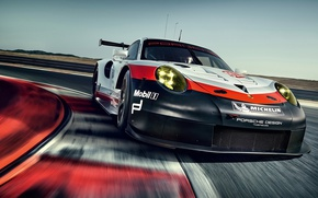 Picture car, Porsche, supercar, Porsche 911, asphalt, 911 Rsr, Porsche 911 Rsr