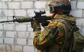 Picture weapons, soldiers, m4a1