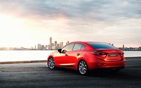 Picture red, Mazda, Mazda, matryoshka, skyactiv