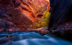 Picture autumn, nature, river, rocks