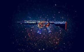 Picture weapons, background, rifle, assault