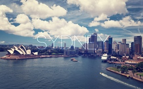 Picture city, day, sydney