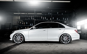 Picture wheels, side, Mercedes Benz, AMG, C63