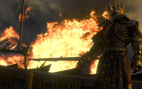 Picture fire, sword, the Witcher, rpg, the wild hunt, wild hunt, the witcher 3, cd Projekt …