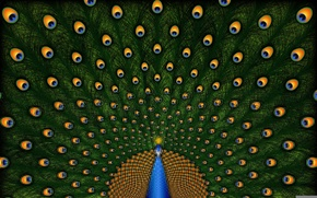 Picture background, pen, texture, art, tail, peacock