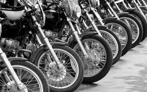 Picture metal, tires, motorcycles, motor vehicles