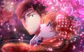 Picture girl, anime, art, The gekka Shoujo Nozaki-kun, Nozaki, Nozaki is the author of shojo manga