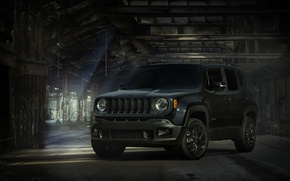 Picture light, the barn, Jeep, Renegade
