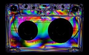 Picture style, retro, music, background, cassette