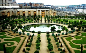 Wallpaper France, building, garden, architecture, Versailles
