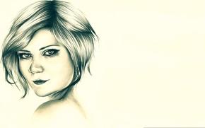 Picture portrait, figure, Kirsten Dunst