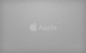 Wallpaper labels, grey, Apple