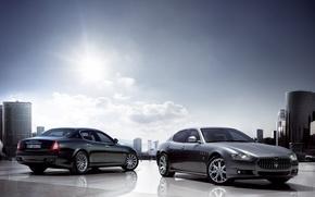 Picture Maserati, auto, quattro, porte
