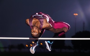 Wallpaper sport, height, jump