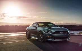 Picture muscle car, Ford Mustang GT, Richard Le, for Velgen Wheels