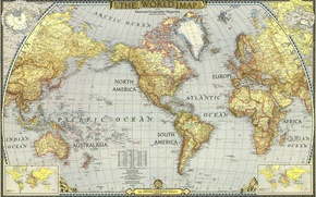 Picture sea, the ocean, Asia, island, America, Africa, world map, Europe, Australia, mainland, the Peninsula